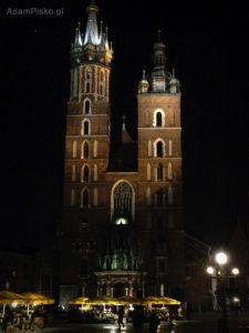Kraków. Kościół Mariacki