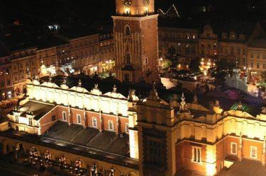 Kraków - Rynek Główny nocą