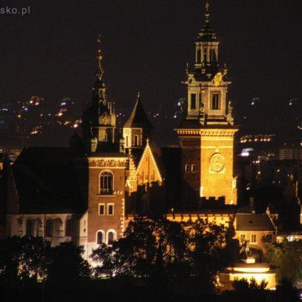 Kraków. Widok z Wieży Mariackiej na Wawel